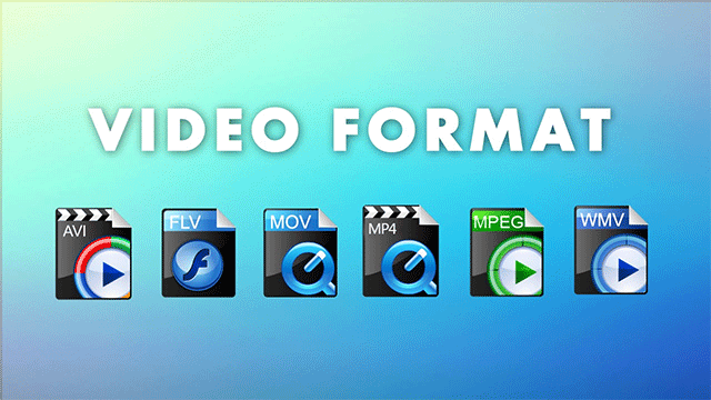 how to change video format