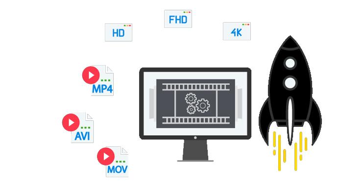 Top 5 fast online HD video converter