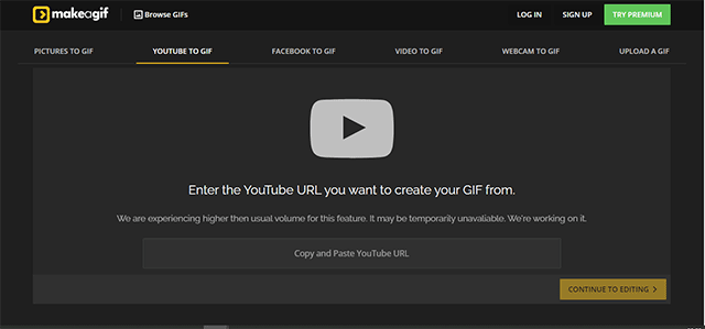 how to convert video to GIF