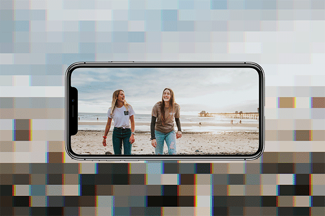 how to fix bad quality videos on iphone