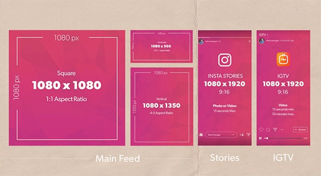 video formats supported by instagram