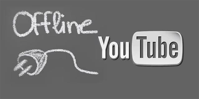 watch videos offline on YouTube